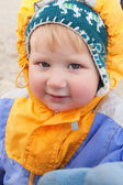 Little boy on walk — Stock Photo