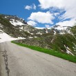 Road in Switzerland Alps — Stock Photo