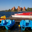 Stock Photo: Trakai Island Castle, Lithuania