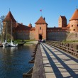 Trakai Island Castle, Lithuania - Stock Photo
