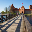 Trakai Island Castle, Lithuania — Stock Photo #2749176