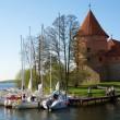 Trakai Island Castle, Lithuania — Stock Photo