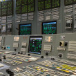 Control room - nuclear power plant — Stock Photo