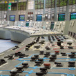 Control room - nuclear power plant — Foto Stock