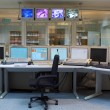 Control room - nuclear power plant — Stock Photo #2879265
