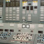 Постер, плакат: Control room nuclear power plant
