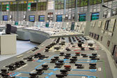 Control room - nuclear power plant — Stockfoto