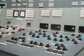 Kontrol odası - nükleer enerji santrali — Stok fotoğraf