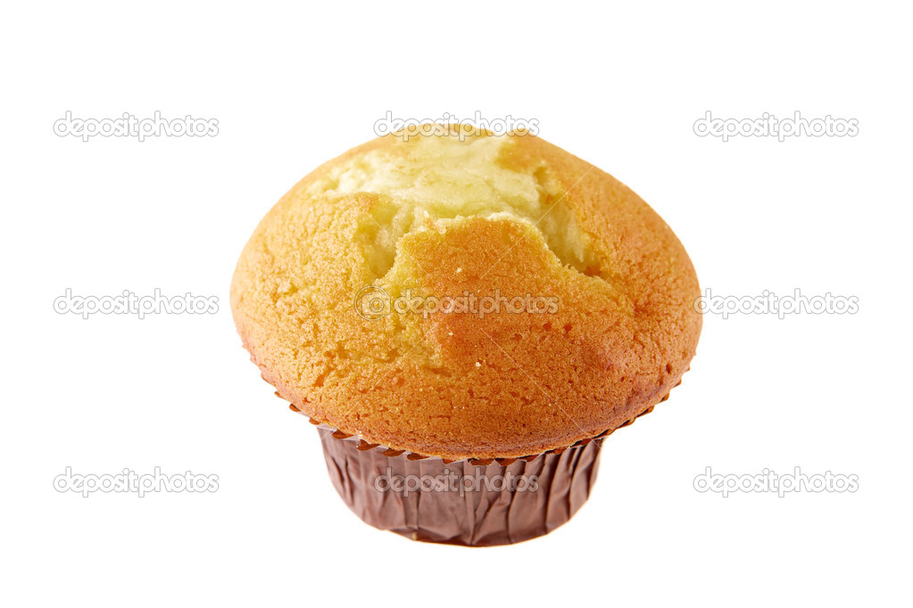 Muffin on a white background — Stock Photo #2908871