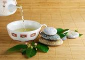 Green tea — Stock Photo