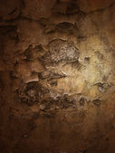 Sepia plaster texture — Stock Photo