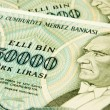 Stock Photo: Turkish banknotes