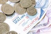 Singapore dollar — Stock Photo