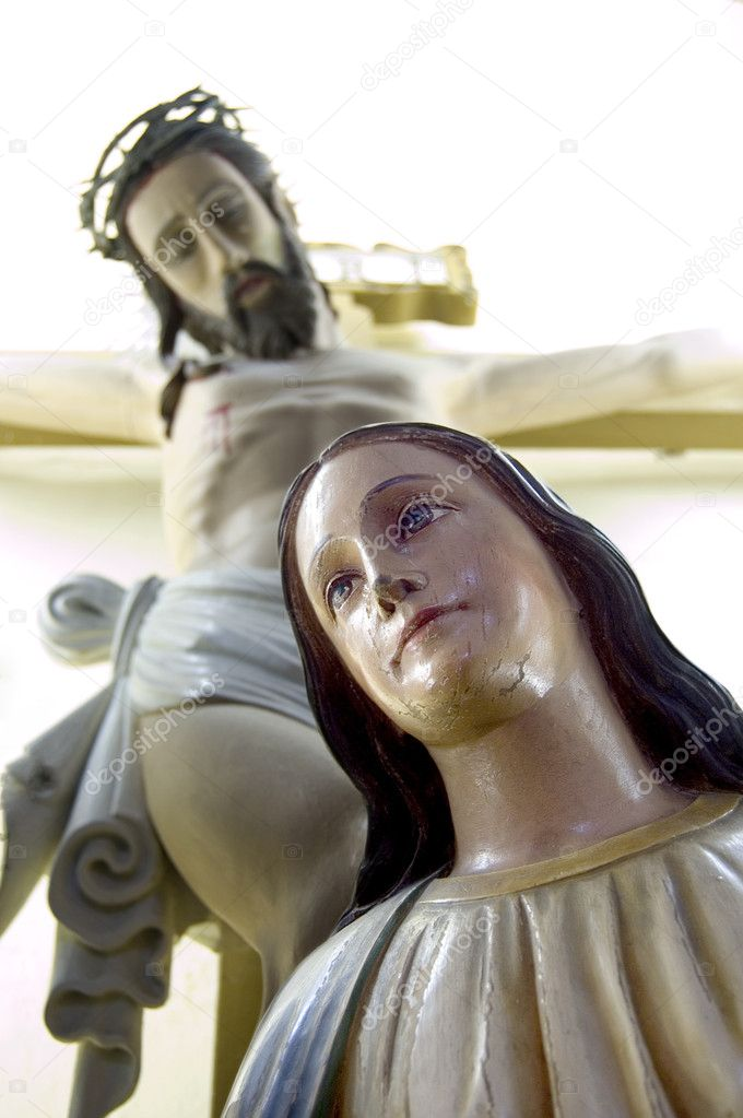 Jesus and Mary  — Stock Photo #2757730