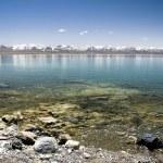 Mountain lake in winter — Stock Photo #2764055