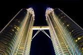 Des jumeaux de petronas towers, kuala lumpur — Photo