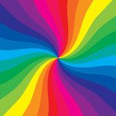 Rainbow burst — Stock Photo