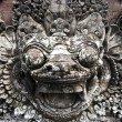 Stock Photo: Balinese stone sculpture