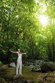 Enjoying the nature — Stock Photo