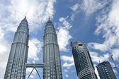 Petronas Twin Towers daylight — 图库照片