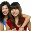 Asian sisters — Stock Photo