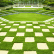 Manicured lawn — Stock Photo #3791950