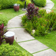 Stock Photo: Garden Path