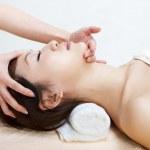 Face massage — Stock Photo #3873420