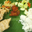 Banana leaf — Stock Photo #3873546
