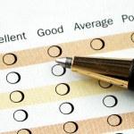 Fill in the customer satisfaction survey — Stock Photo