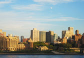 Downtown Brooklyn skyline in New York City — Stock Photo