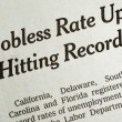 Jobless rate is up and hitting record concepts poor economy — Stockfoto #3571939