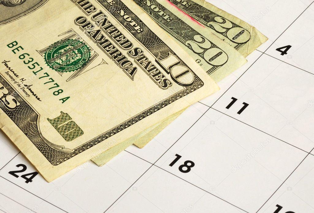 financial planning calendar
