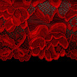 Red lace — Stock Photo