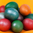 Stock Photo: Easter dyed egg