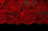 Red lace — Stockfoto