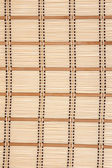 Small rug from bamboo — Stock Photo