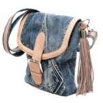 Feminine jeans bag — Stock Photo #3294733