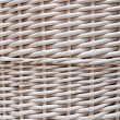 Braided basket in the manner of background — Stock Photo