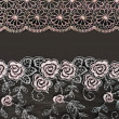 Collage lace with pattern in the manner of flower — Stock Photo #3861992
