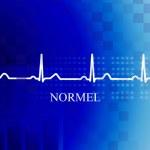 Постер, плакат: Normal stage AV block in coronary diseas