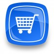 Shopping internet icon — ストック写真