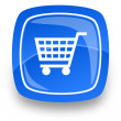 Shopping internet icon — 图库照片