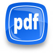 Stock Photo: Pdf file internet icon