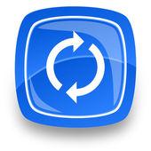 Refresh internet icon — Stock Photo