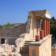 Stock Photo: Old palace ruins in Knossos