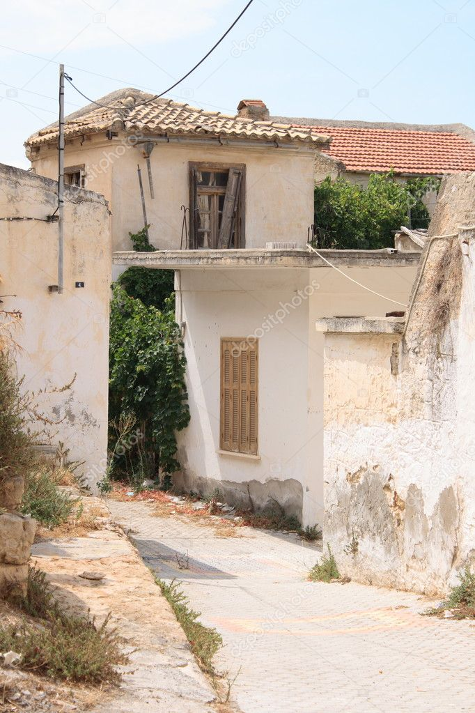 Ruined village on Crete — Stock Photo #3544405