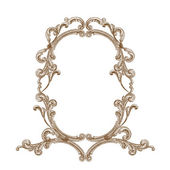 Antique frame — Vector de stock