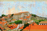 Old city Dubrovnik — Stock Photo