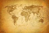 Mapa clássico vintage — Foto Stock
